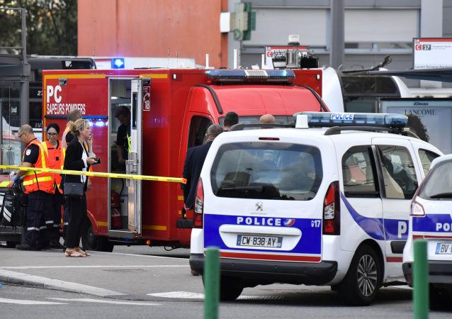 La police à Lyon. Archive