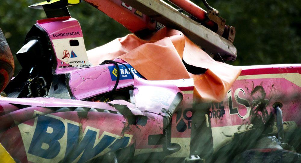 Suite à un terrible accident de Formule 2, le pilote Anthoine Hubert trouve la mort - vidéo
