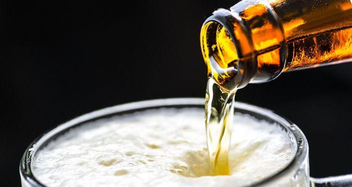 Une bière, photo d'illustration