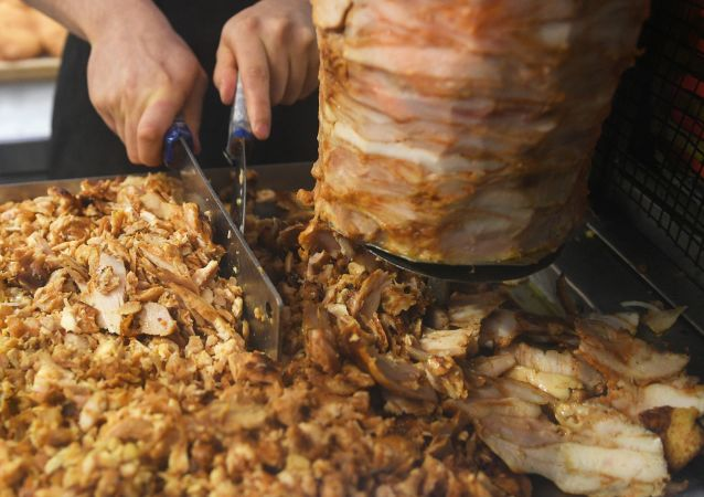 Un shawarma (image d'illustration)