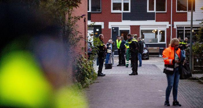 Dordrecht, aux Pays-Bas, après la fusillade, le 9 septembre 2019