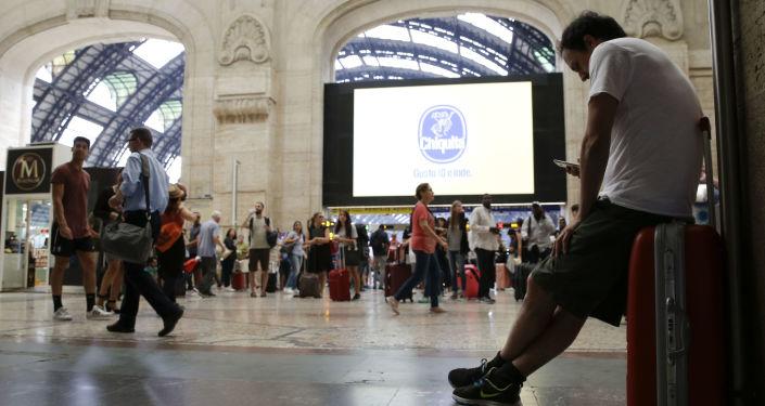 La gare de Milan (photo d'archives)