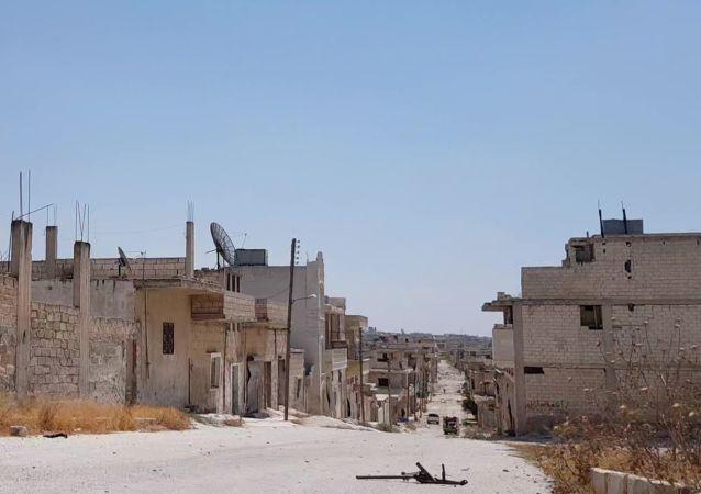Khan Cheikhoun, en Syrie