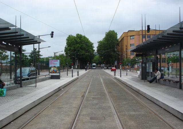 une station de tramway
