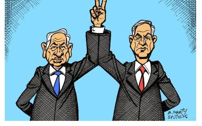 Élections en Israël: le coude-à-coude de Netanyahou et Gantz