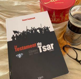 Livre de Youri Fedotoff, en lecture actuellement