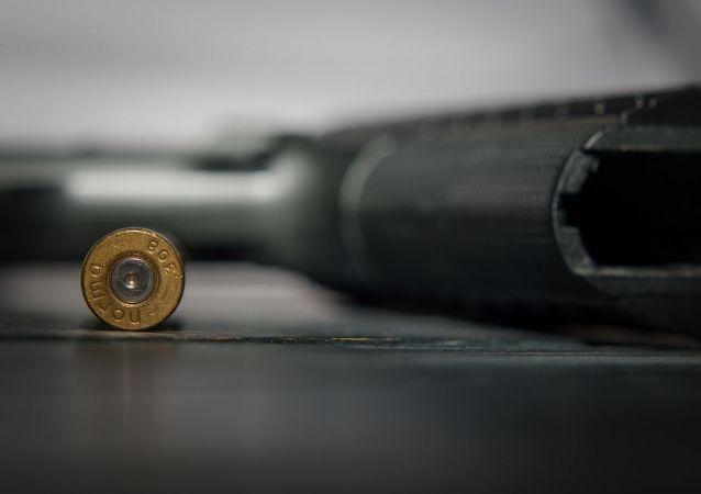 pistolet , munitions, balles