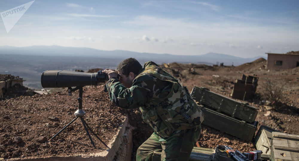 L'armée syrienne abat un drone équipé de bombes à fragmentation
