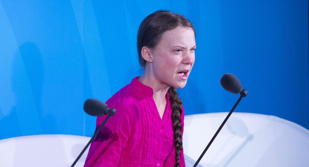 Greta Thunberg à l'Onu