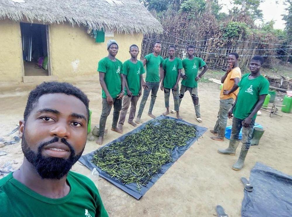 Une partie de l'équipe d'Agrolight