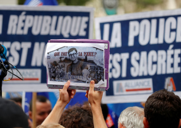 Une manifestation en l'honneur de Steve Caniço à Paris
