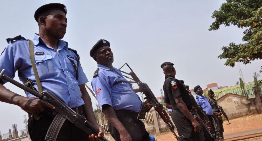 Police nigériane, image d'illustration
