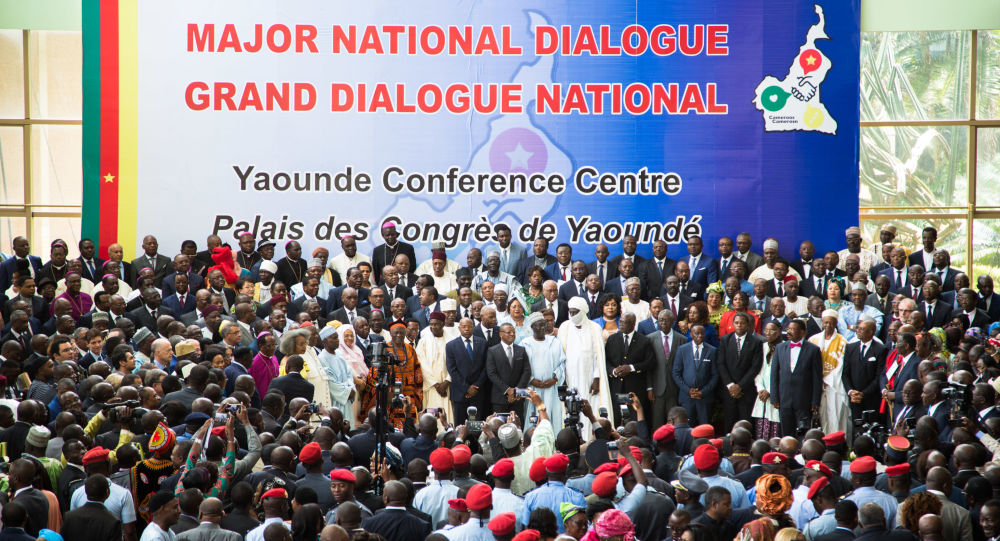 Image result for grand dialogue national cameroun