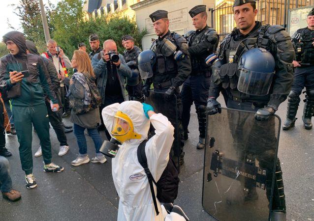 La vérité sur l'incendie: manifestation à Rouen le 1 octobre