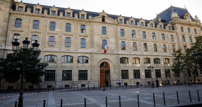 La préfecture de Paris après l'attaque du 3 octobre 2019