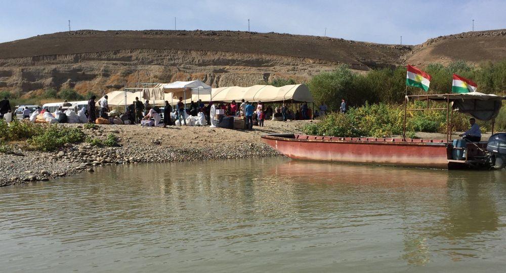 Le point de passage de Semelka, à la frontière syro-irakienne (archive photo)