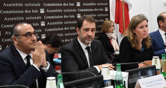 Laurent Nunez, Christophe Castaner et Yael Braun-Pivet