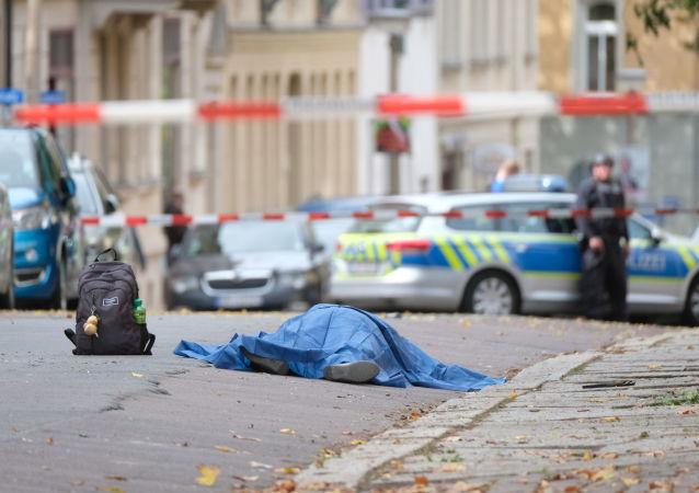 Fusillade à Halle