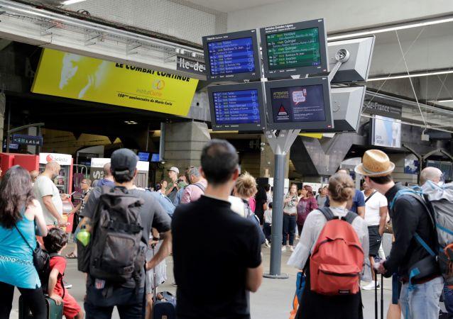 la gare Montparnasse (image d'illustration)