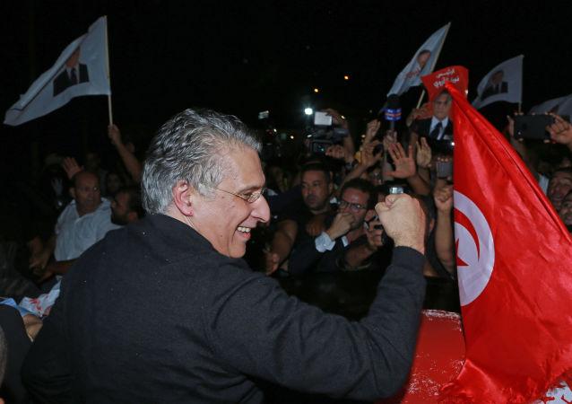 La libération du candidat à la présidentielle, Nabil Karoui