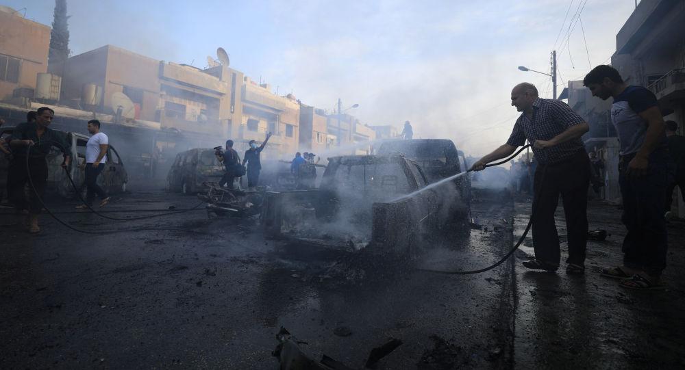 Un attentat à voiture piégée à Qamichli