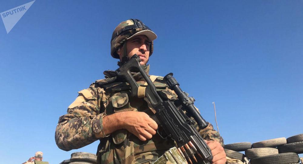 Une offensive de l'armée gouvernementale syrienne (archive photo)
