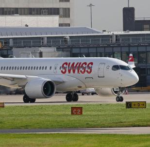 Airbus A220-100 de Swiss