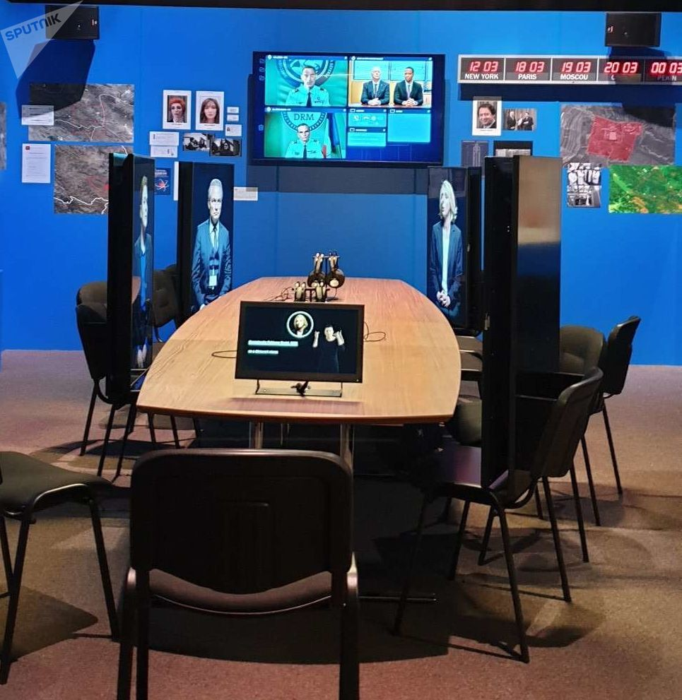 Situation room - Exposition Espions