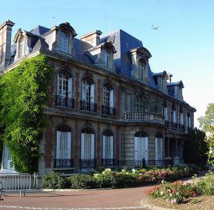 L'hôtel de ville de Gonesse (Val-d'Oise), France