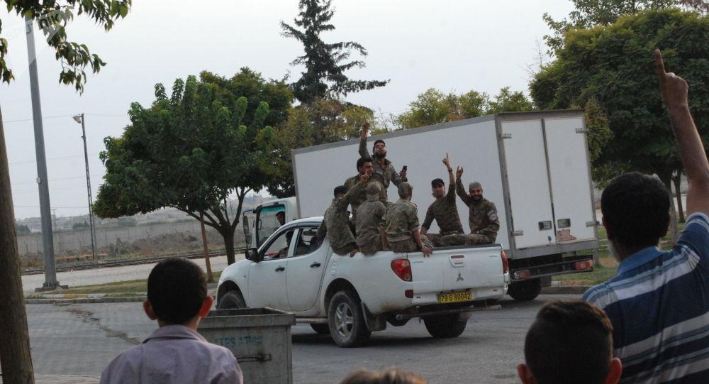 Combattants de l'ASL à Tall Abyad