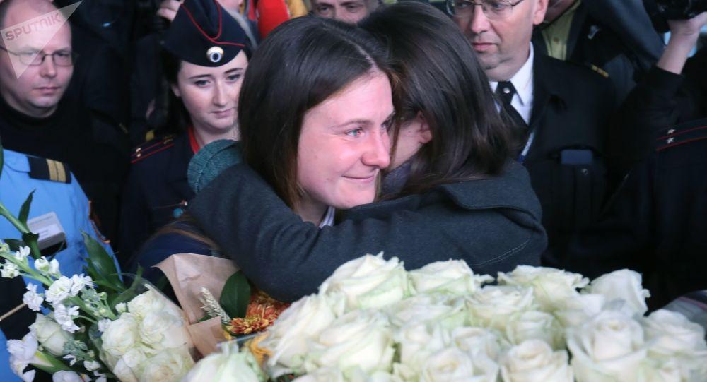 Maria Boutina de retour en Russie