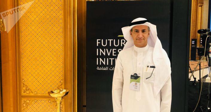 Adel Atiq, directeur exécutif de la fondation saoudienne Sunduq sanadiq pour le soutien des PME