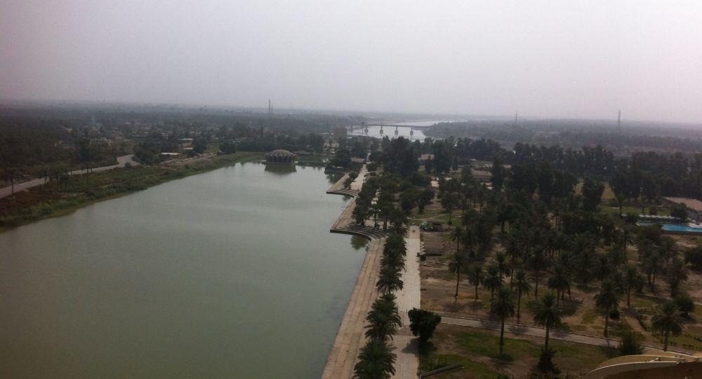 La ville de Bagdad vue depuis la Baghdad Tower (archive photo)