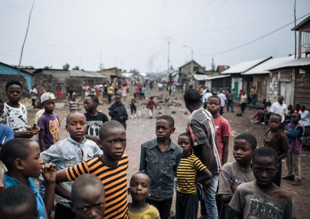 Des enfants en RDC, image d'illustration