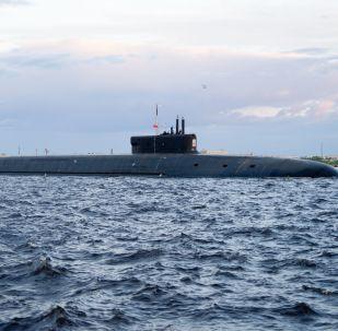 Le sous-marin Prince Vladimir entame un essais en mer
