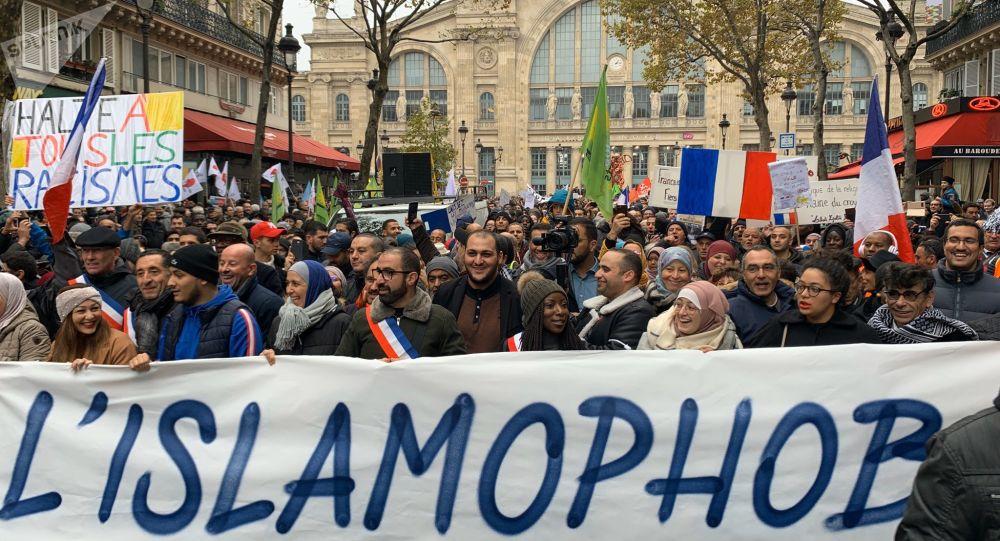 Une manifestation contre l'islamophobie démarre à Paris