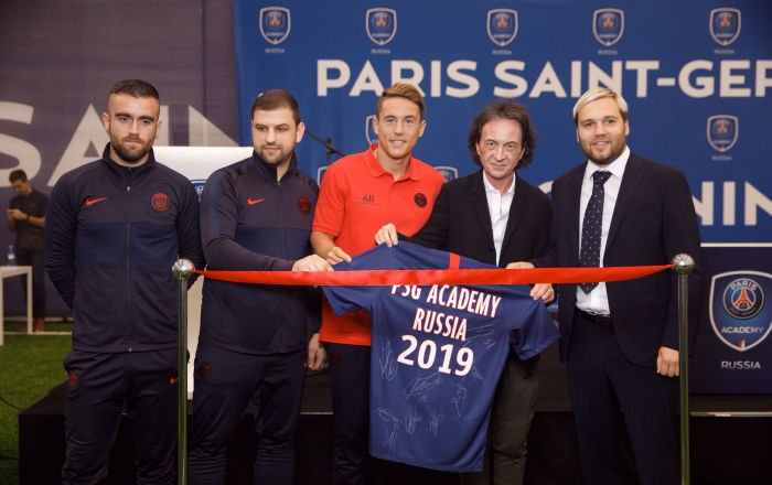 Académie du Paris Saint-Germain à Moscou