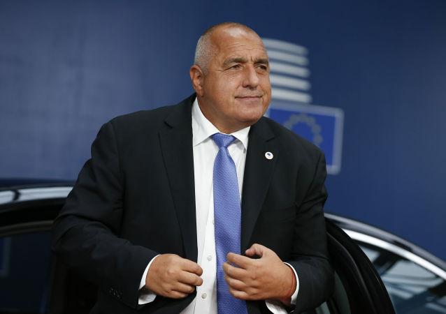 le Premier ministre bulgare Boïko Borissov (photo d'archives)