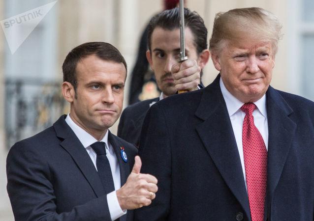 Une visite de Donald Trump à Paris