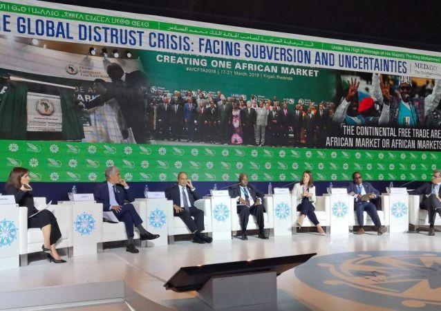 « Zone de libre-échange continentale: un marché africain ou des marchés africains?», Panel d'ouverture du Forum Medays, le 14 novembre, à Tanger.