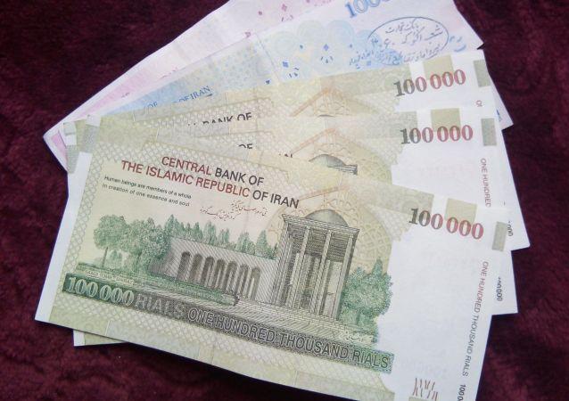 Billets de banque iraniens