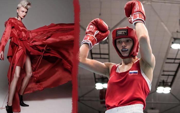 Svetlana Soluyanova, championne d'Europe 2018 de boxe féminine et double championne de Russie