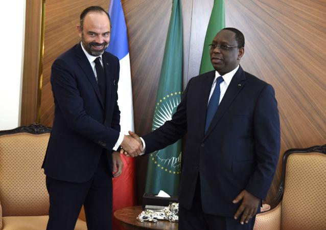 Visite d'Edouard Philippe au Sénégal, à Dakar