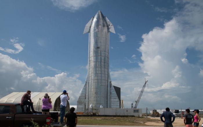 Un prototype de Starship