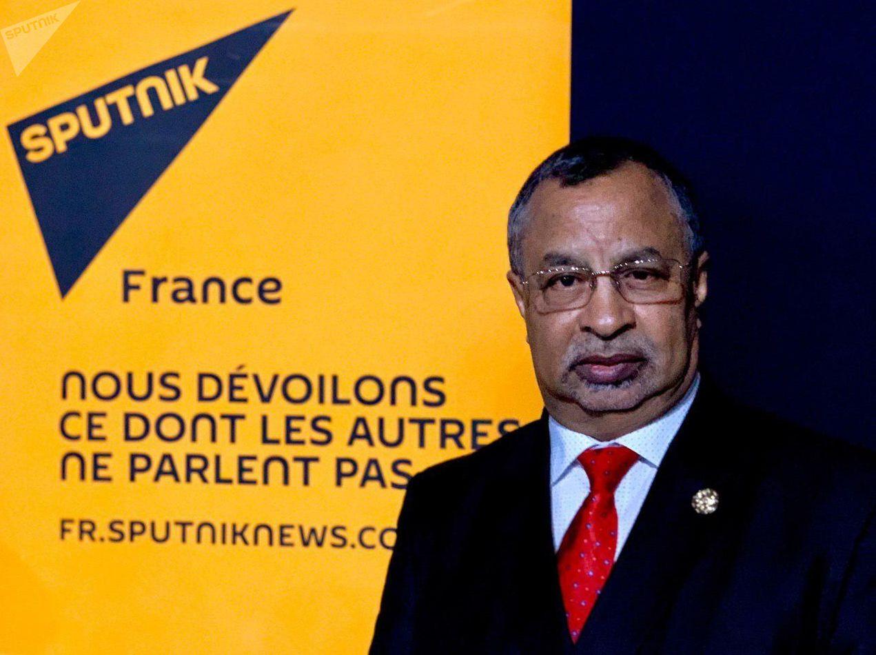 Mahamat Saleh Annadif, représentant spécial du Secrétaire général des Nations unies pour le Mali, au Forum MEDays à Tanger, le 16 novembre 2019.