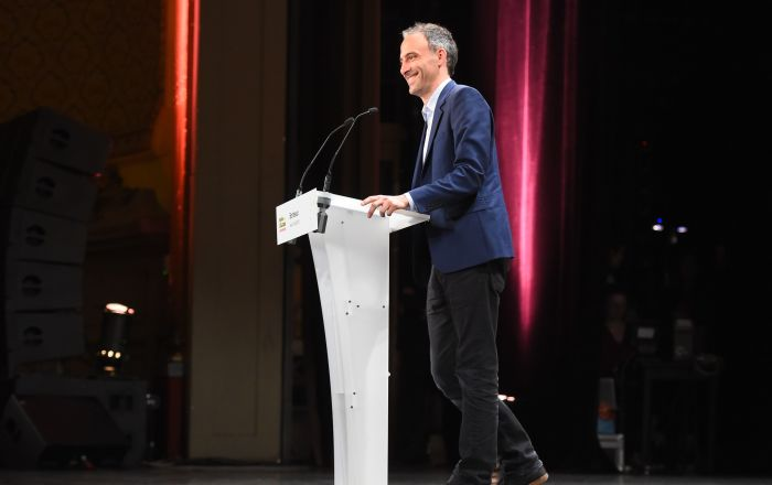 L'eurodéputé Raphaël Glucksmann