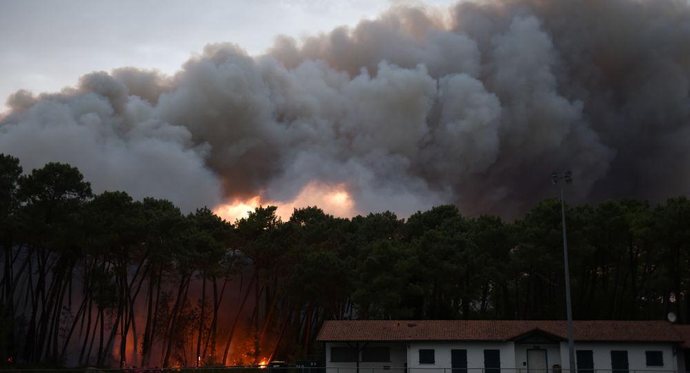 L'incendie d'Anglet serait «d'origine humaine»
