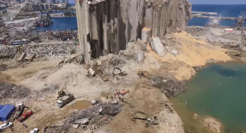 Les images de l'explosion de Beyrouth au ralenti et en haute définition