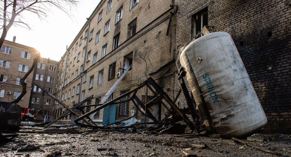 Explosion dans un hôpital pour les malades du Covid en Russie – vidéo