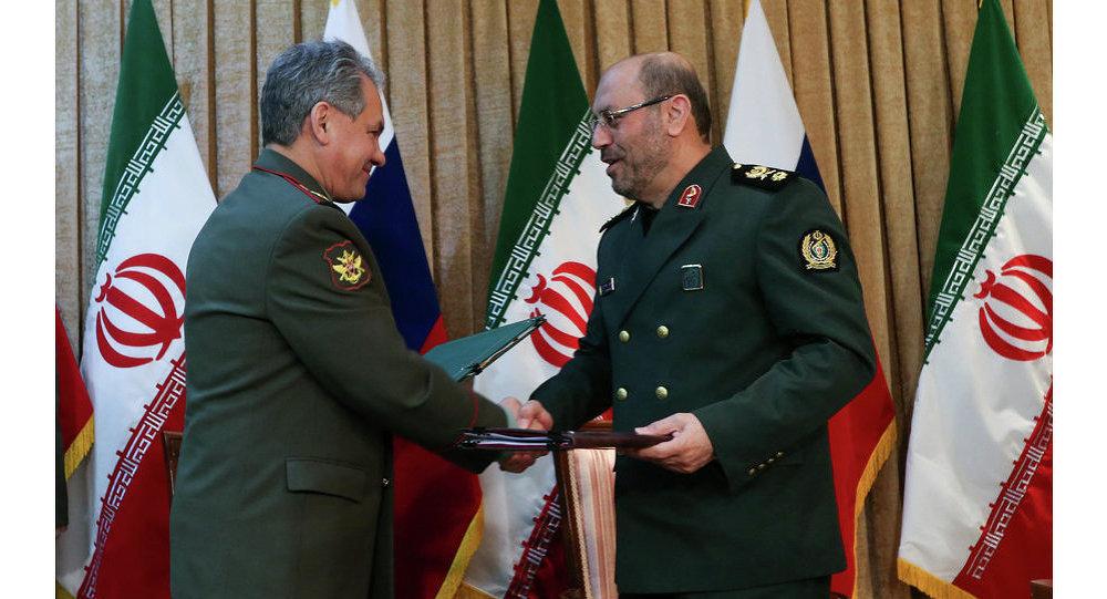Ministre de la Défense de Russie Sergueï Choïgou en Iran